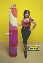 IKEA: RUG Print Ad by *S,C,P,F... Madrid