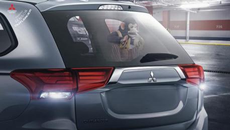 Mitsubishi: Parking Sensor Print Ad by Promoplan