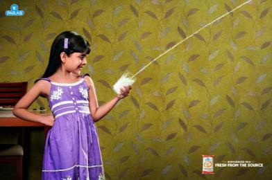 Paras Health: Girl Print Ad by VML Qais Mumbai