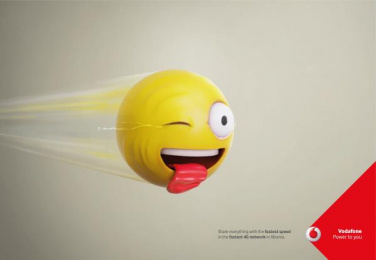 Vodafone: Speed Tears, 1 Print Ad by JWT Albania