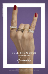 Annoushka: Rule the World, 5 Print Ad by Mr. President London