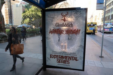 Glenfiddich: Glenfiddich Experimental Series Outdoor Advert by Posterscope