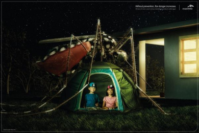 Arcelormittal: Backyard Print Ad by MP Vila Velha