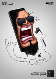 Samsung: Slash Print Ad by Cheil Kazakhstan