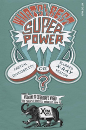 Launch Of New Radio Show: SUPERPOWER Outdoor Advert by Mother London