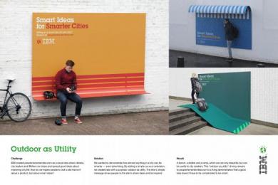 IBM: IBM OUTDOOR AS UTILITY Outdoor Advert by Ogilvy Paris