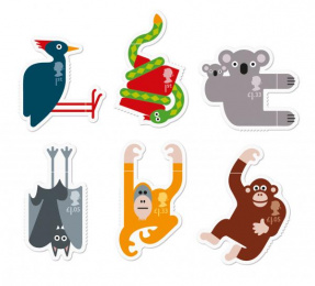 Royal Mail: Animail stamps, 2 Design & Branding by Osborne Ross