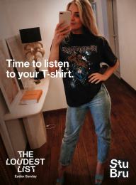 Studio Brussels: Time to listen to your T-shirt, 6 Print Ad by Mutant
