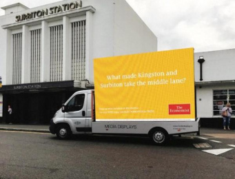 The Economist: British Election Campaign, 4 Outdoor Advert by Proximity London
