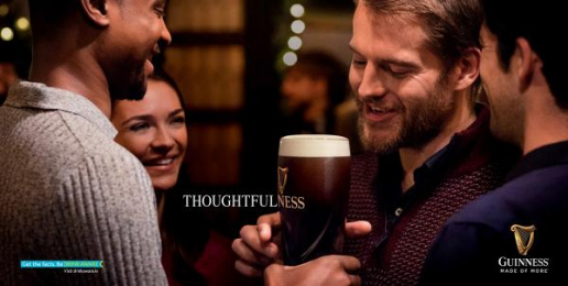 Guinness: Thoughtfulness Print Ad by AMV BBDO London, Irish International BBDO Dublin