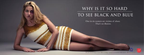 Salvation Army: Black and Blue Outdoor Advert by Ireland/Davenport