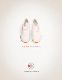 Reebok: Hands Print Ad by The Creative Circus