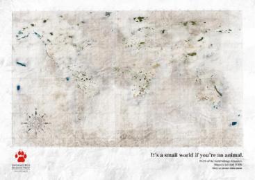 Endangered Wildlife Trust: MAP Print Ad by Grey Johannesburg