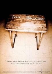 The Eagle Print Awards: FCUK EDUCATION Print Ad by Harrison Human