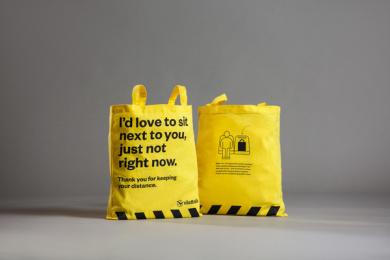 Västtrafik: No Douche Bag, 6 Print Ad by Forsman & Bodenfors, Sweden