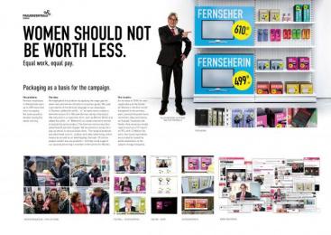 Frauenzentrale Zurich: Women should not be worth less Case study by Publicis Zurich