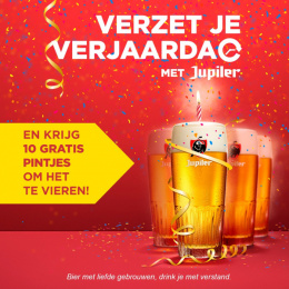 Jupiler: Postpone your Birthday, 2 Print Ad by BBDO Brussels