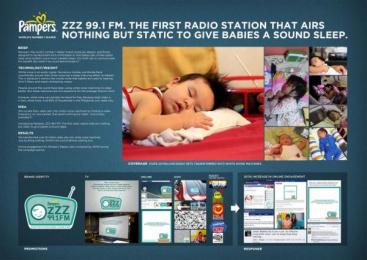 Pampers: ZZZ RADIO Direct marketing by Ace Saatchi & Saatchi Makati, Ace Saatchi & Saatchi, Manila, Post Manila