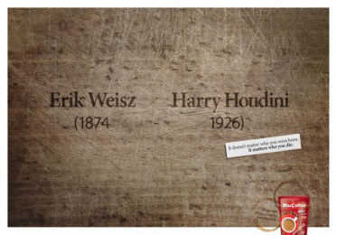 Maccoffee: Harry Print Ad by Cheil Kazakhstan