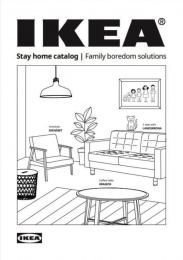 "IKEA: IKEA ""Stay Home"" Catalog - Family Boredom Solutions, 16 Print Ad by McCann Tel Aviv"