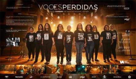 Voces de la Ausencia: Voces Perdidas, 3 Print Ad by Archer Troy Mexico