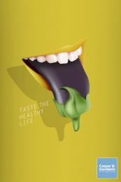 Casper & Gambini: Eggplant Print Ad by Nabaroski Cairo, TBWA\ Egypt