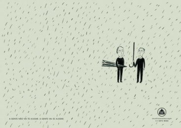 Aa Alcoholics Anonymous: Chuva [spanish] Print Ad by J. Walter Thompson Sao Paulo