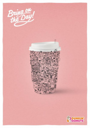 Dunkin Donuts: Kids Print Ad by Y&R Vienna