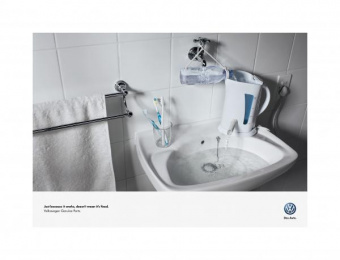 Volkswagen: KETTLE Print Ad by Ogilvy Cape Town