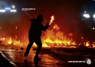 Burger King: Love Fire, 4 Print Ad by Grabarz & Partner Hamburg