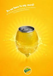 Fanta: Lemons Print Ad by Miami Ad School