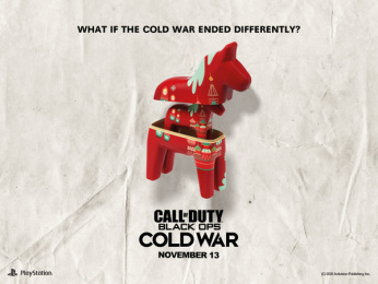 Activision: What if the Cold War ended differently?: Dalahorse Print Ad by Stendahls