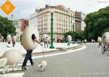 Drive: TOWN CENTRE Print Ad by Euro Rscg Buenos Aires