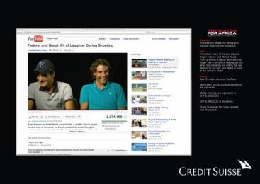 Credit Suisse: LAUGH ATTACK Promo / PR Ad by Euro Rscg Zurich