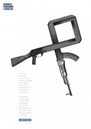March For Our Lives: Dan Bilzerian Print Ad by MullenLowe SSP3 Bogota
