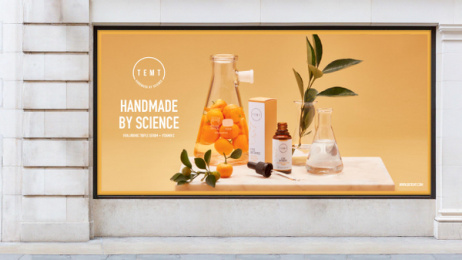Temt: Aesthetic Chemistry: Handmade by Science Outdoor Advert by Misterwilson