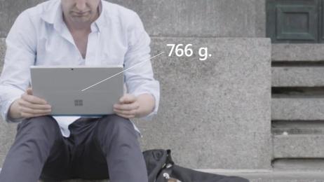 Microsoft: Posture scanner Ambient Advert by JMW Stockholm, Makeriet