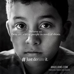 Angel Bins: Just DOnate It, 2 Print Ad by Alma Miami
