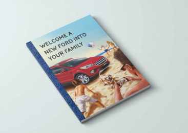 Ford: Welcome A New Ford Into Your Family Direct marketing by J. Walter Thompson Auckland