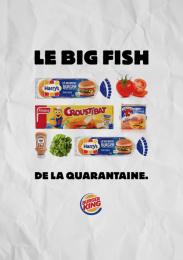 Burger King: Le Whopper de la Quarantaine, 3 Outdoor Advert by Buzzman Paris