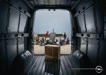 Opel Movano: Education Print Ad by Y&R Madrid