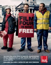 Film4 Launch: GAEL, CHRISTIAN, RAY Print Ad by 4creative