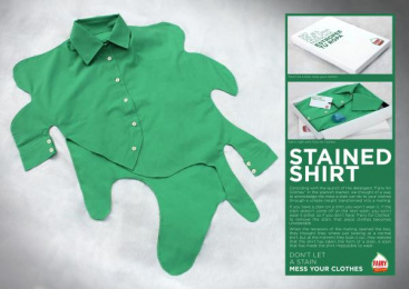 Fairy: STAINED SHIRT Direct marketing by Grey Barcelona