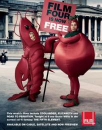 Film4 Launch: EWAN & JUDI Print Ad by 4creative
