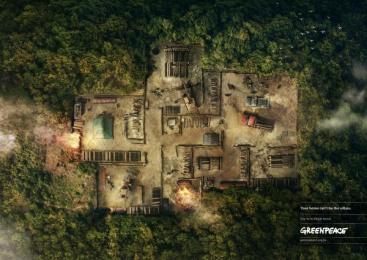 Greenpeace: Atlantic Forest Print Ad by DM9DDB Sao Paulo