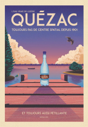 Quezac: The Pontoon Print Ad by Change Paris