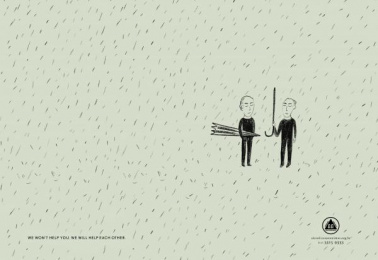 Aa Alcoholics Anonymous: Chuva [alternative color spectrum (eng)] Print Ad by J. Walter Thompson Sao Paulo