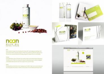 NOAN PARAGOGI KE EMPORIA ELAIOLADOU: NOAN OLIVE OIL BRANDING Design & Branding by Spirit Design