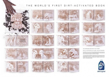 Omo: The OMO Book of Dirt [image] 2 Outdoor Advert by Ogilvy Cape Town