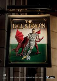 Bt Sport: Champions League Pubs Outdoor Advert by OgilvyOne London